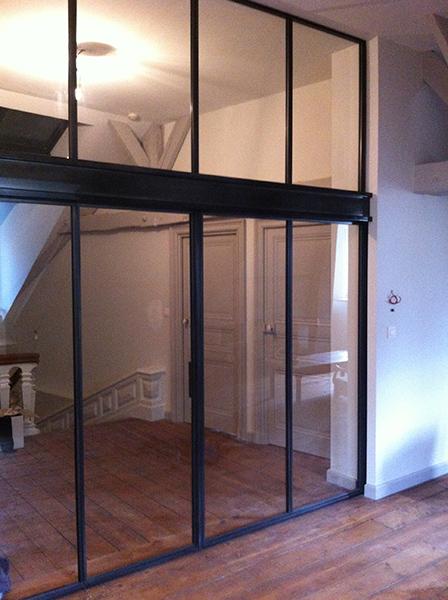 Artim tal portes vitr es battantes coulissantes for Portes interieures vitrees coulissantes